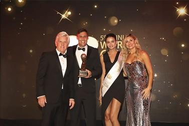 Wish Foz do Iguaçu é bicampeão em premiação internacional de golfe