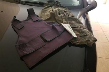 Ação da Polícia Federal apreende armamento de uso restrito e colete balístico