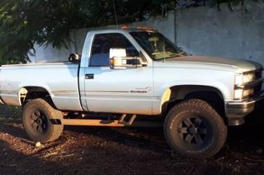 Adolescente é detido levando caminhonete furtada para o Paraguai