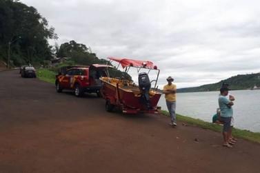 Criança se afoga e desaparece durante brincadeira com amigos no Rio Paraná