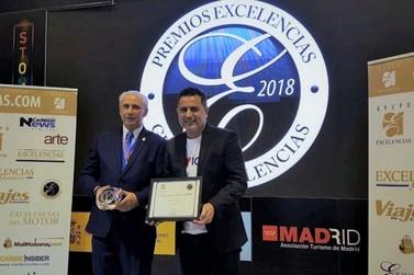 Foz do Iguaçu recebe Prêmio Excelências Turísticas em Madri, na Espanha