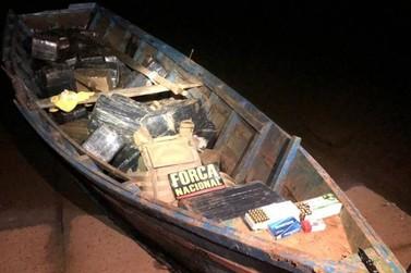 Operação no Rio Paraná apreende mais 500 kg de maconha em embarcação