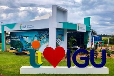 Destino Iguaçu apresenta nova identidade visual no Show Rural em Cascavel