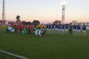 Foz do Iguaçu FC perde para o Rio Branco e fica na última colocação do Grupo A
