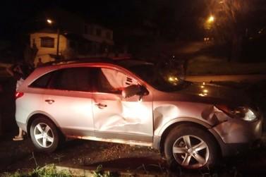 Motorista embriagado dirige na contramão e colide contra motociclista no Boicy