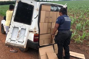 Receita Federal retém veículo carregado com azeites em Santa Terezinha de Itaipu