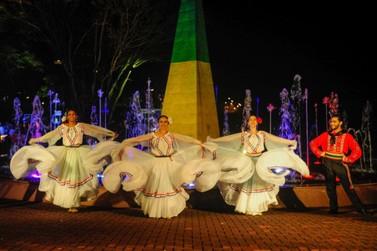 Show cultural do Marco das Três Fronteiras tem novo horário a partir de domingo