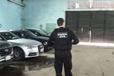 Forças de segurança realizam operação para reprimir crimes na Vila Portes
