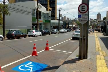 Foztrans reforça sinalização com tecnologia de led em alguns pontos da cidade