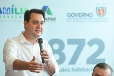 Governador Ratinho Junior libera construção de casas populares em Foz do Iguaçu