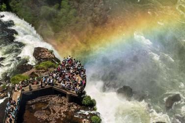Parque Nacional do Iguaçu recebeu 40 mil visitantes no feriado de Carnaval