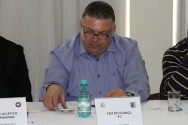 Presidente do Foz do Iguaçu Futebol Clube quer mudar time de cidade