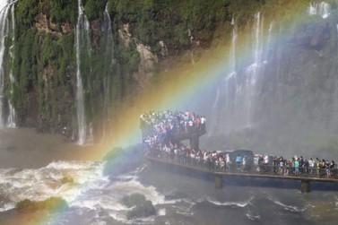 Cataratas do Iguaçu recebeu mais de 30 mil visitantes no feriado de Páscoa