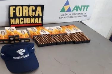 Homem é preso com 500 munições de pistola na Ponte Internacional da Amizade
