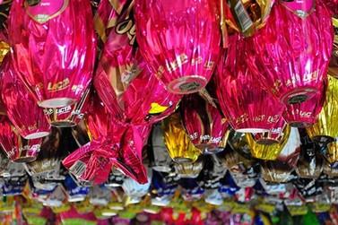 Ovos de Páscoa têm variação de 83,4% nos supermercados de Foz do Iguaçu