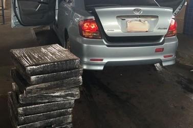 Polícia apreende mais de 140 kg de maconha na Ponte Internacional da Amizade