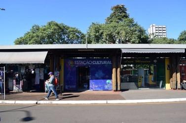 Prefeitura inaugura 'Estação Cultural' no terminal de transporte coletivo