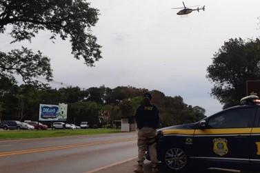 PRF registra seis acidentes durante a Páscoa na região de Foz do Iguaçu