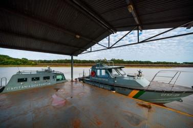 Marinha promove maior operação de fiscalização no reservatório da Itaipu