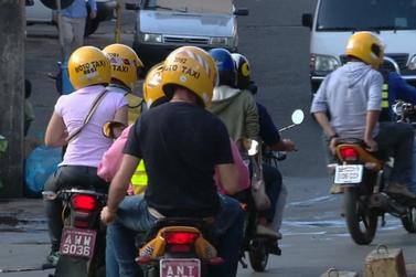 Mototaxistas terão tributos reduzidos; Câmara de Vereadores aprovou projeto