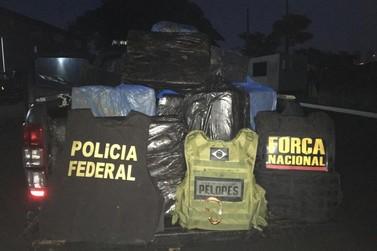 Operação Fronteira Sul apreende contrabando durante fiscalização no Rio Paraná