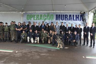 Operação Muralha começou nesta segunda-feira por período indeterminado