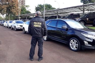 PF e Receita Federal desarticulam organização criminosa transnacional