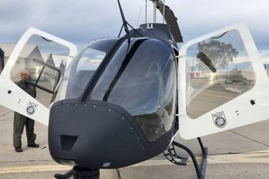 Polícia avalia helicóptero de R$ 12 milhões nos EUA para vigiar a fronteira