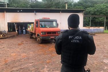 Polícia Civil de Foz do Iguaçu incinera mais de 2,5 toneladas de drogas
