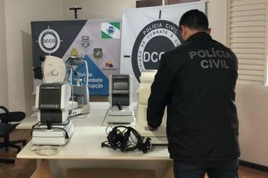Polícia recupera aparelhos oftalmológicos roubados no Hospital Municipal