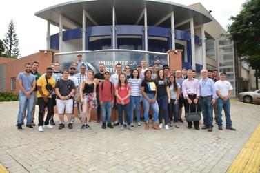 UDC recebe estudantes americanos de Engenharia para Programa de Intercâmbio