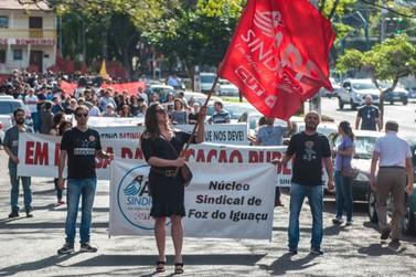 Educação suspende aulas em primeiro dia de greve dos servidores estaduais