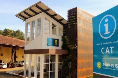 Estado entrega unidades do Centro de Atendimento ao Turista de Foz do Iguaçu