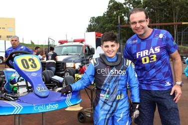 Para Firás Fahs, Open é o grande teste para o Campeonato  Brasileiro de Kart