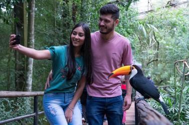Parque das Aves espera receber 8 mil turistas no feriado de Corpus Christi