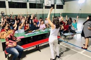 Sindicato estima mais de 90% de adesão de escolas e CMEIs à greve geral
