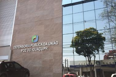 Foz do Iguaçu perderá unidade da Defensoria Pública da União (DPU)