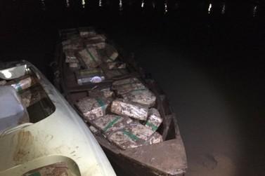PF e FN apreendem quase 850 kg de maconha próximo a favela do Jupira