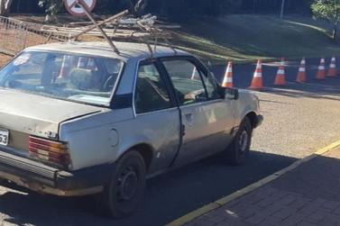 PRF recupera veículo roubado próximo ao Parque Nacional do Iguaçu