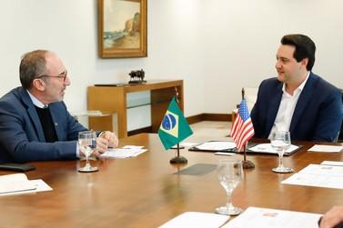 Paraná e EUA querem ampliar parcerias em segurança na Tríplice Fronteira