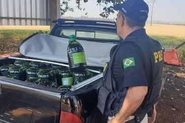 PRF apreende 1000 litros de azeites importados irregularmente da Argentina