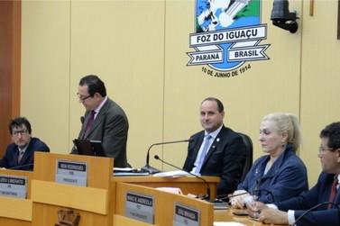 Câmara de Foz do Iguaçu apresenta números positivos dos trabalhos neste ano