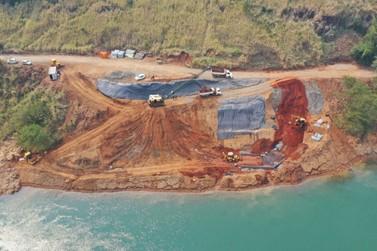 Diques vão proteger obras de sustentação da nova ponte entre Brasil e Paraguai