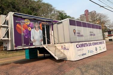 Programa 'Carretas do Conhecimento'  é lançado em Foz do Iguaçu