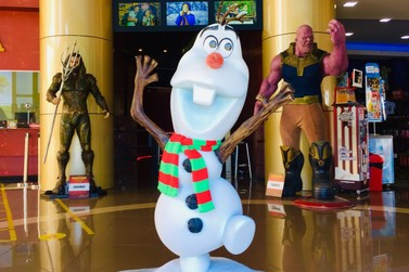 Personagem do filme Frozen, Olaf é a nova celebridade do Dreamland