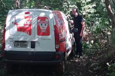 Carro de empresa é roubado e encontrado abandonado próximo ao Lago de Itaipu