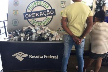 Casal é preso com anabolizantes na Aduana da Ponte Internacional da Amizade