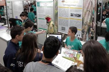 Jovens talentos apresentam mais de 150 trabalhos na FIciencias 2019