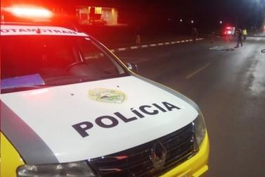 Motorista abandona carro e foge após atropelar e matar ciclista em Foz do Iguaçu