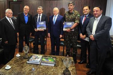 Na Alep, Silva e Luna fala sobre os investimentos da Itaipu no Oeste do Paraná